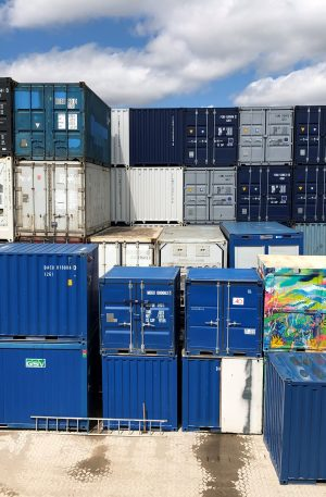 Køb brugt container