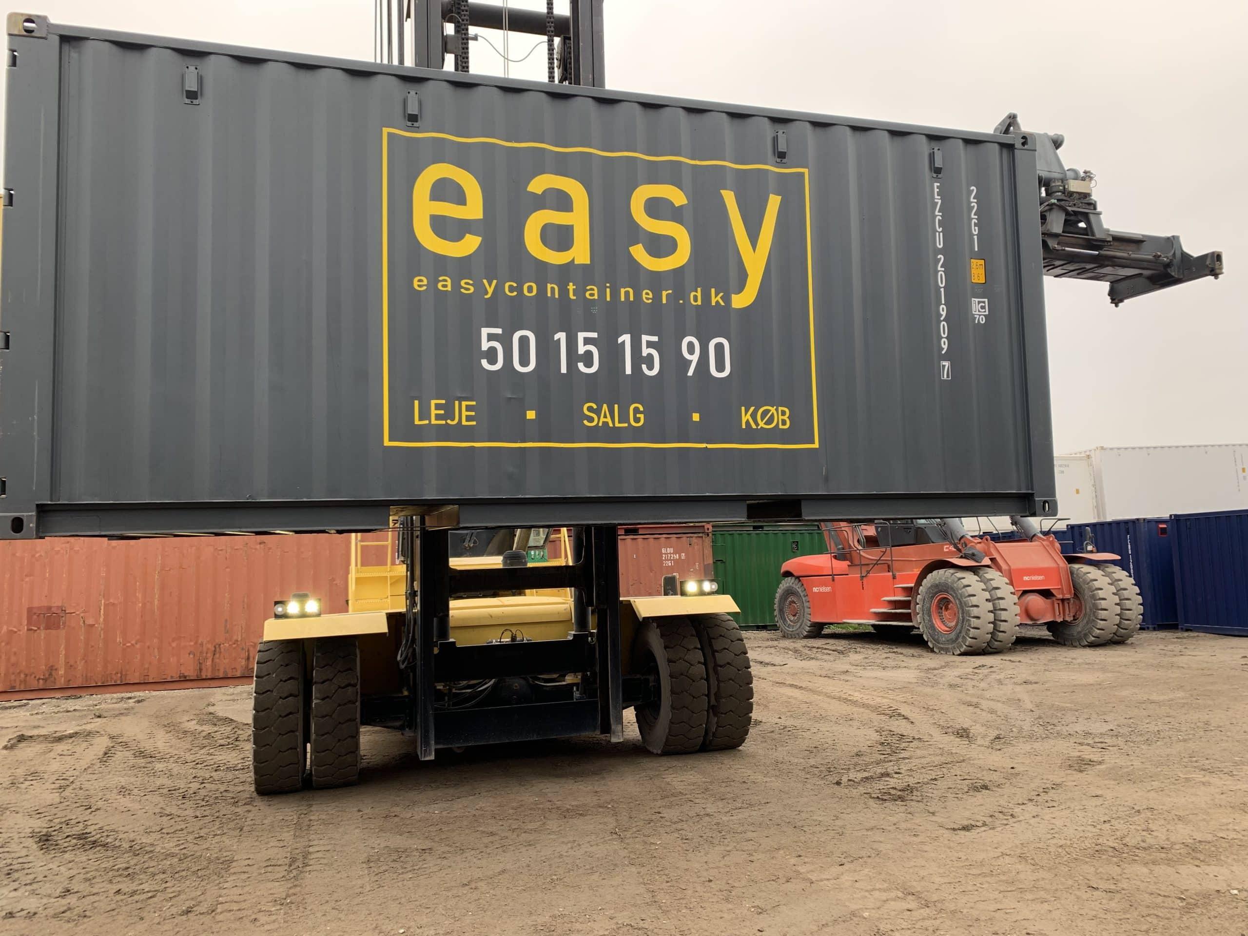 Leje køb og salg container